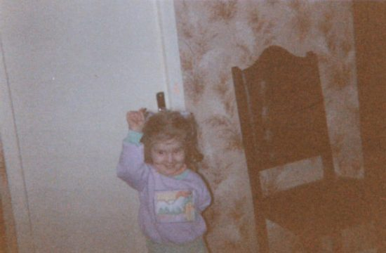 Priscillia Hervier, photos de famille