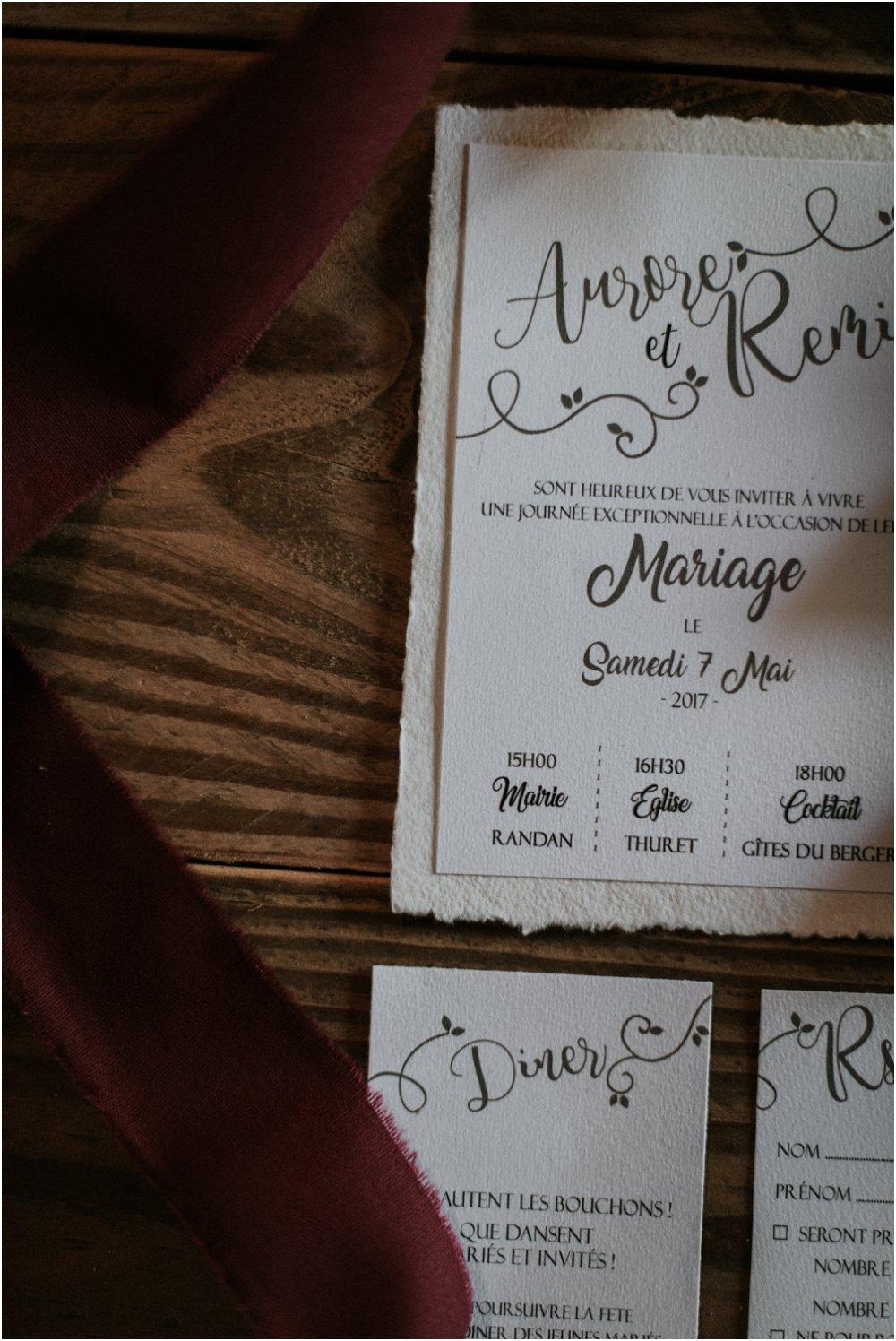 Priscillia Hervier, photographe de mariage rustique, alternatif, Auvergne, France
