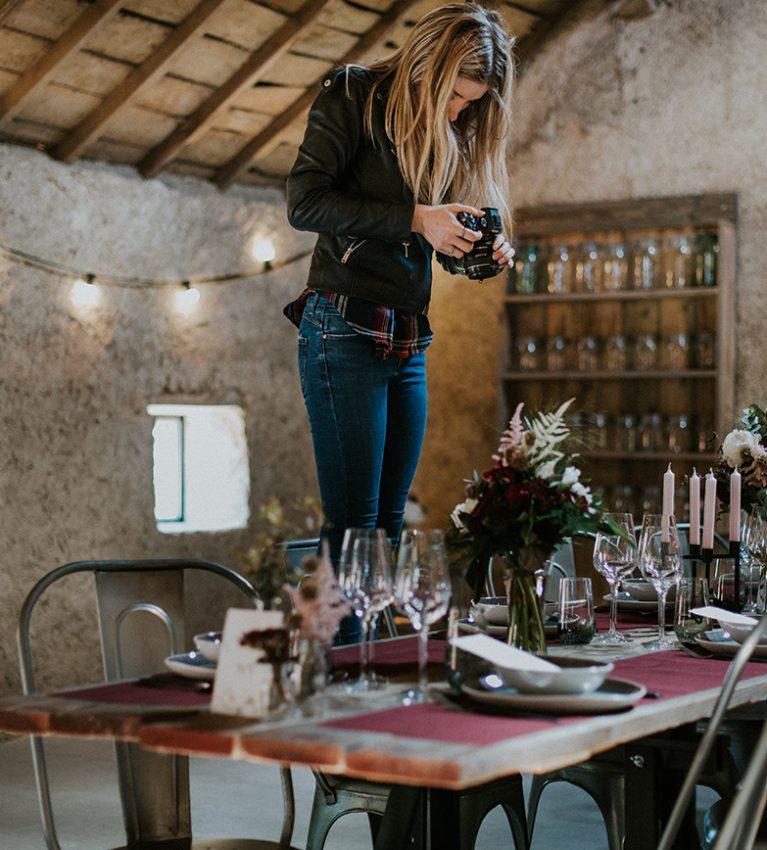 Julie Bouton, vidéaste à clermont ferrand, par Priscillia Hervier photographe de mariage