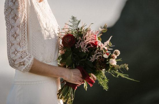 Priscilia Hervier, photographe de mariage et Mademoiselle R^ve, créatrice de robe de mariée sur mesure