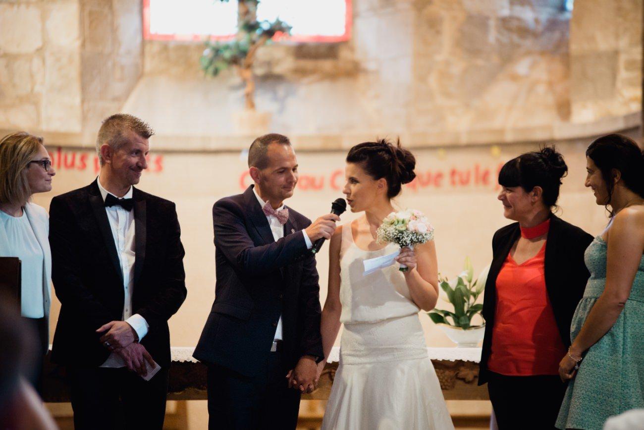 Auvergne Priscillia Hervier, mariage intime du coté d\u0027Issoire Puy de  dome,
