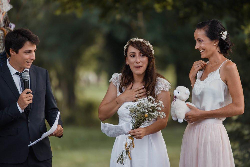 Priscillia Herier, photographe, reportage photo de mariages, cérémonie laique
