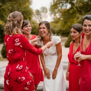 Conseils pour les photos de groupe de mariage
