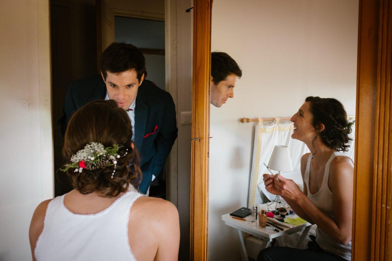 Mariage intime en foret en auvergne, Priscillia Hervier