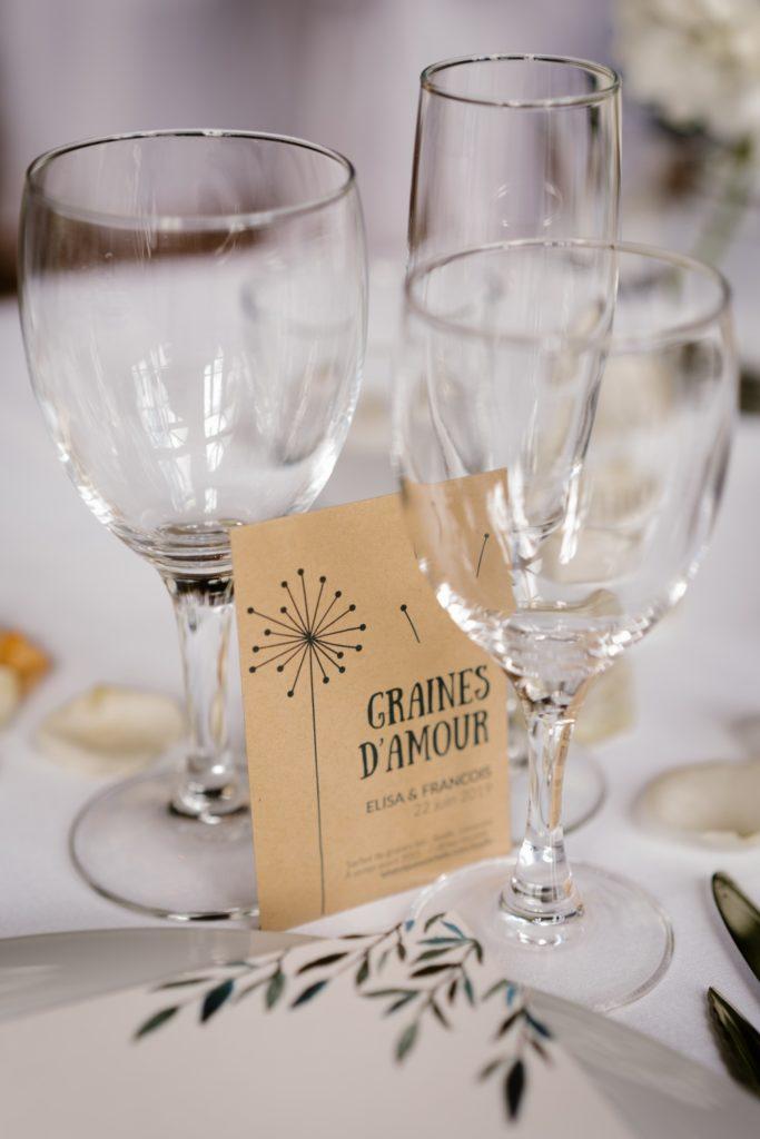 Des graines à planter, cadeaux pour vos invités au mariage, Priscillia Hervier, photographe