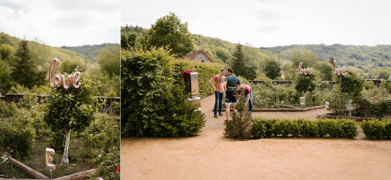 Mariage intime au château de Miremont, en Auvergne, par Priscillia Hervier, photographe de mariages près de Riom
