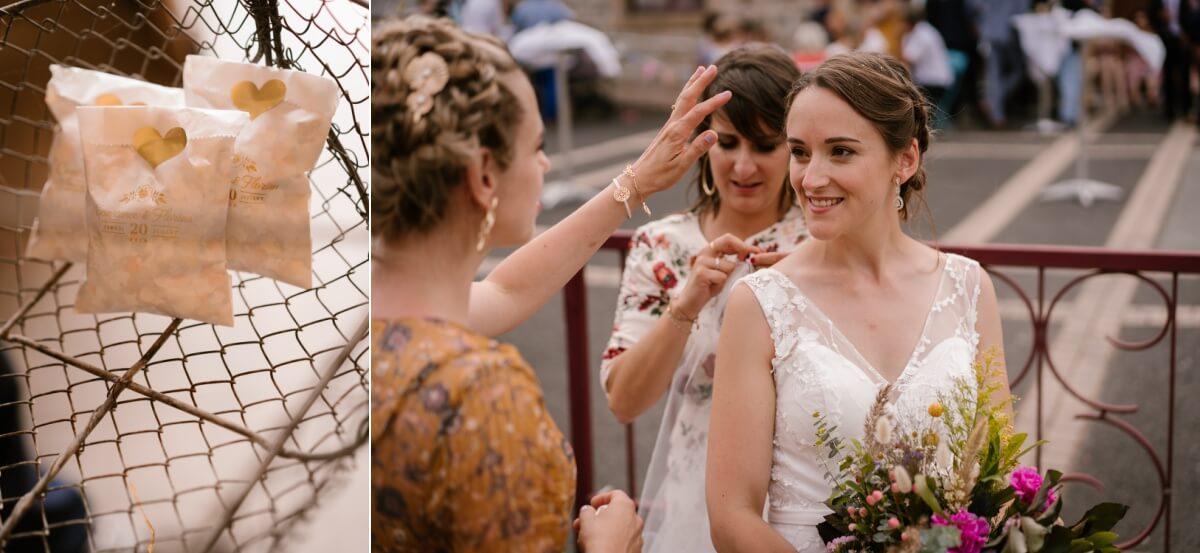 mariage intime, priscillia hervier photographe de mariage en Auvergne