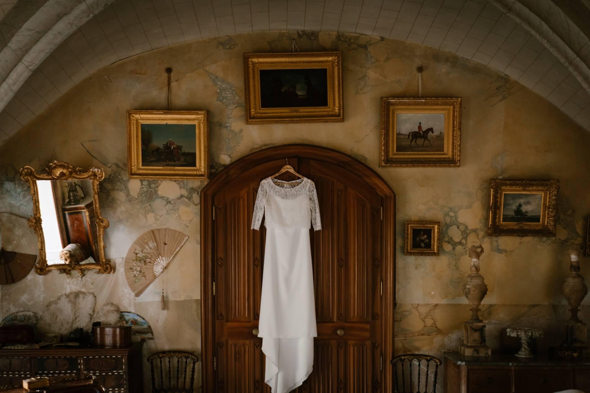 photographe puy de dome mariage dans une chateau auvergnat