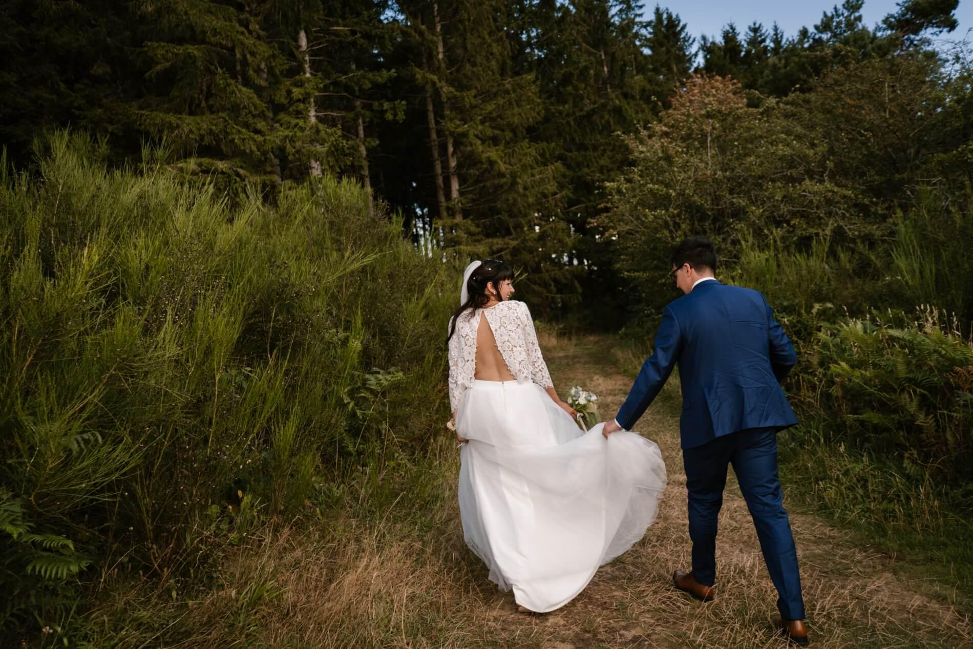 photographe puy de dome de mariage cantal